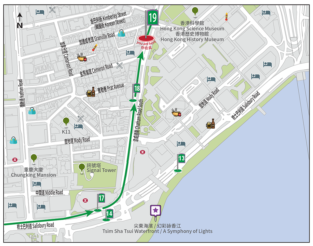 Bus Stop Map
